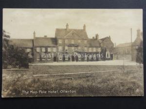 Nottingham: Ollerton, The Hop Pole Hotel - Old Postcard