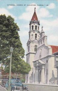Florida Saint AugustineCathedral Church Albertype