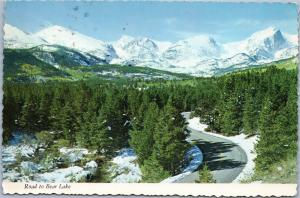 Road to Bear Lake - Posted 1968