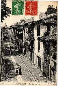 CPA PÉRIGUEUX-La Rue du Lys (233591)