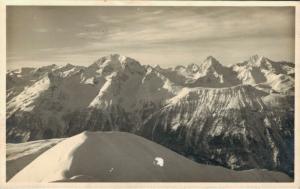 Switzerland Vom Monsteiner Büelenhorn Blick auf Piz Aela 02.45