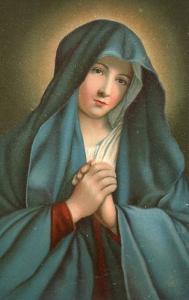 Virgin Mary  (Sassoferrato)