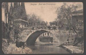 098050 TURKEY SMYRNE-IZMIR Pont des Caravannes Vintage PC