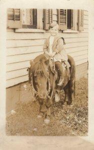 RP: Child on pony , 00-10s