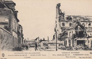 Ribecourt, France , war 1914-18