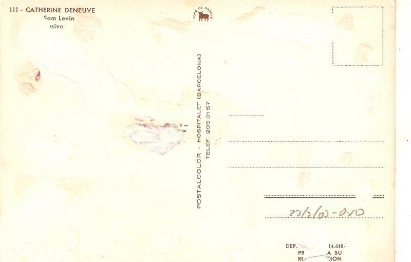 Catherine Deneuve Nice modern Spanish PC. Continental sdize