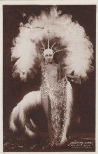 RP: Josephine Baker , Show Girl pose , 1920s