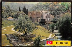 Turkey Bursa Promenade River Partial view