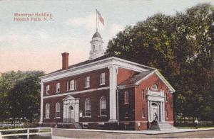 The Municipal Building - Hoosick Falls, Rensselaer County NY, New York - DB