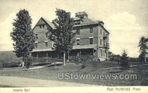 Weston Hall East Northfield MA Unused