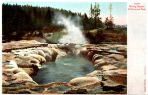 Haynes AUTOCRHOME , Crater Oblong Geyser, Yellowstone National Park