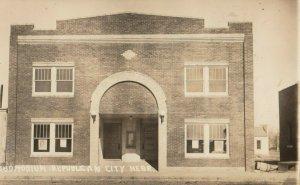 RP: REPUBLICAN CITY , Nebraska , 1932 ; Auditorium