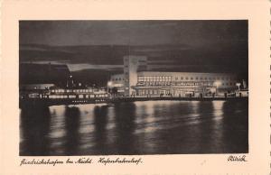 BG40981 friedrichshafen bei nacht by night hafenbahnhof    germany