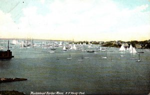 Massachusetts Malden Harbor New York Yacht Club 1913