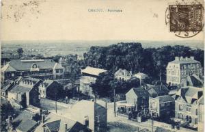 CPA CHAUNY Panorama (152021)