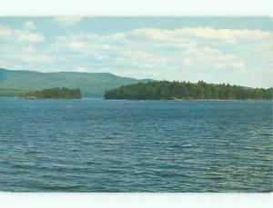 Pre-1980 LAKE SCENE Bristol - Near Laconia & Concord New Hampshire NH AE3885