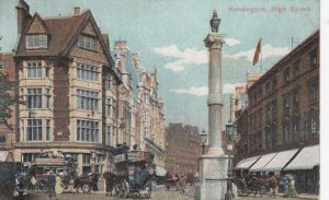 KENSINGTON , England , 1908 ; High Street