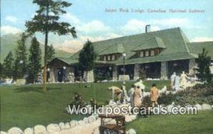 Jasper Park Lodge Canada, du Canada Canadian National Railway Station  Canadi...