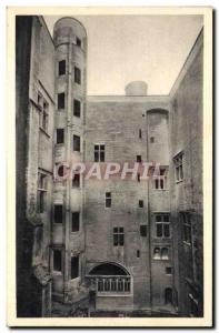 Old Postcard Tarascon Chateau clear peep