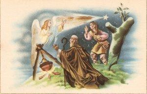 Biblical scene Nice vintage Spanish postcard