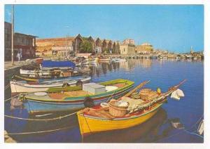 CRETE - CANEA,  Greece , 50-70s   Harbour & Ship-yards