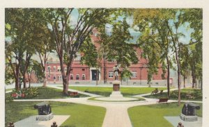 CLAREMONT, New Hampshire, 1930-40s; View in Broad Street Park