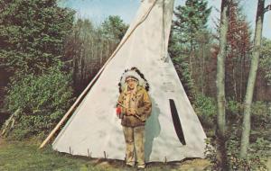 Indian Chief & Teepee , PEMBROKE , Ontario , Canada , PU-1967