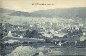 spain, VIGO, Vista General (1920s)