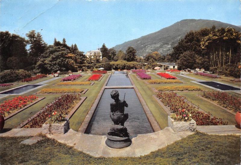 Italy Villa Taranto Verbania Pallanza Giardini terrazzati e Cascate ...