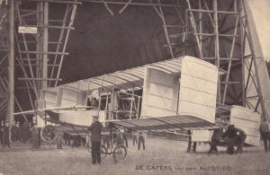 Bi-plane , DE CATERS vor dem AUFSTIEG , Germany , PU-1909 : Offizielle Karte ...