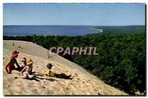 Postcard Modern Basin & # 39Arcachon Dune Du Pilat The Highest d & # 39Europe