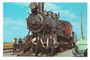 Strasburg Railroad Amish Boys Old 98 Steam Locomotive Train