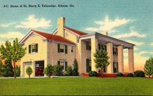 Geirgia Athens Home Of Dr Harry E Talmadge