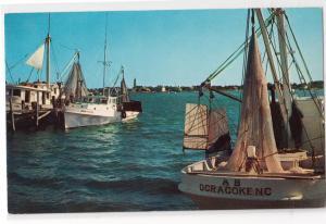 Shrimp Boats, Ocracoke island NC