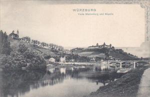 Würzburg , Germany , 00-10s : Veste Marienburg und Kapelle