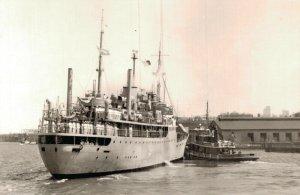 The Argentine Navy School Ship Bahia Thetis RPPC 05.32