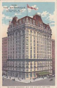 The Martinique, New York, PU-1905