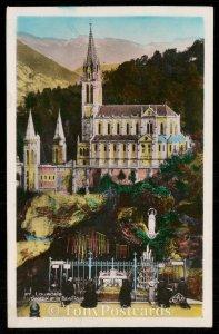 LOURDES - Grotte el la Basilique