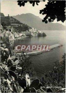 Modern Postcard Amalfi panorama