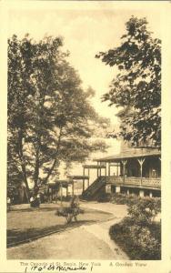 Cenacle of St Regis Garden View - Manhattan New York City - pm 1943
