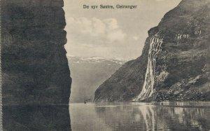 Norway De Syv Sostre Geiranger The Seven Sisters 06.51