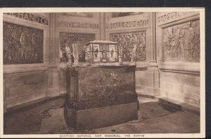 Scotland Postcard - The Shrine, Scottish National War Memorial, Edinburgh  DC416
