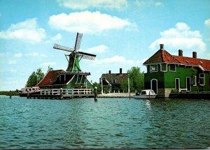 Netherlands Groeten Van De Zaansa Schans