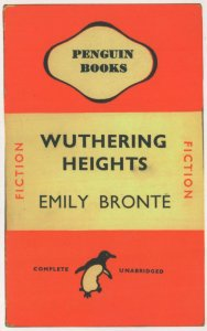 Wuthering Heights Emily Bronte 1946 Book Postcard