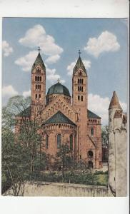 BF30344 spire la cathedrale germany  front/back image