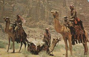Desert Police at Wadi Rum Jordan Postcard