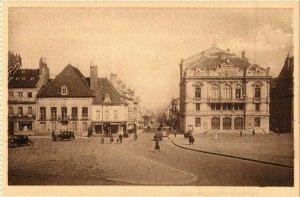 CPA Autun Place du Champs de Mars FRANCE (952507)