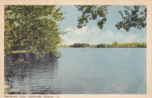 Handerson Lake, Lethbridge, Alberta, Canada, 20-30s