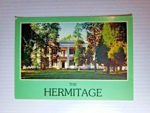 VTG Postcard The Hermitage Nashville Tennessee 1988 President Andrew Jackson 750