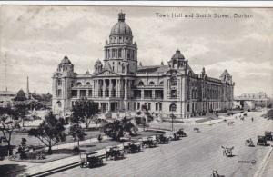 Town Hall & Smith Street, Durban, South Africa, 1900-1910s